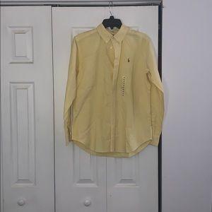 Ralph Lauren Yellow Button Up